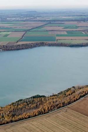 Blausteinsee Luftbild Grossmann