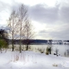 Winter Blausteinsee Eschweiler Dürwiß