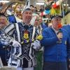 Prinz Ralf II. und Zeremonienmeister Georg im Eschweiler Rathaus